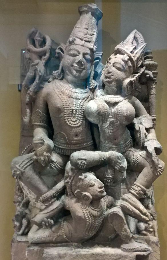 169 WP_20180909_11_17_32_ProSculptureOfVishnuAndLakshmiAbout1000-1100ProbablyDuladeoTempleKhajurahoMadhyaPradeshIndia