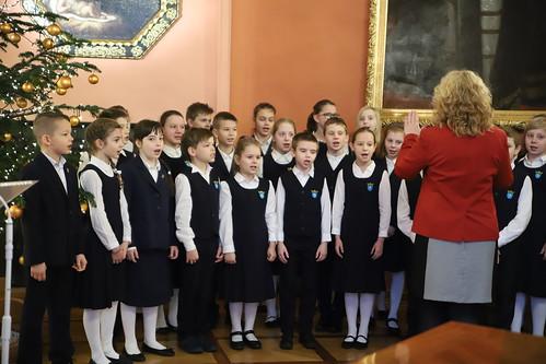 Spotkanie opłatkowe szkół katolickich archidiecezji krakowskiej | Abp Marek Jędraszewski, 18.12.2018