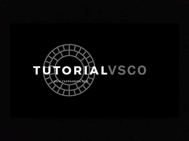 Tutorial VSCO