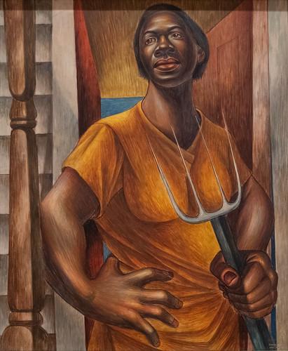 Charles White, Our Land, 1951 10/5/18 #moma #museummodernart #artmuseum
