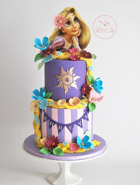 Rapunzel Cake by Spiced Up