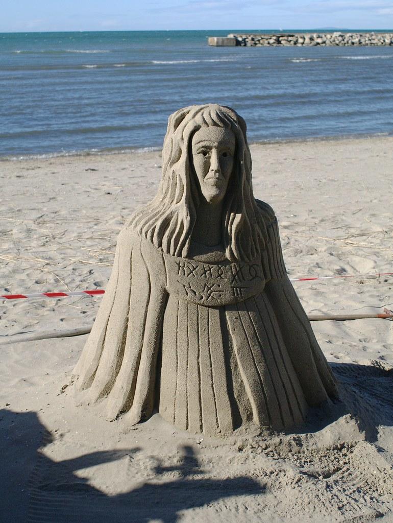 Sculpture de sable - V2 33508760718_8a7bb97d11_b