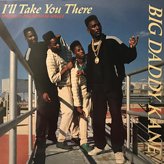 BIG DADDY KANE:I'LL TAKE YOU THERE(JACKET A)