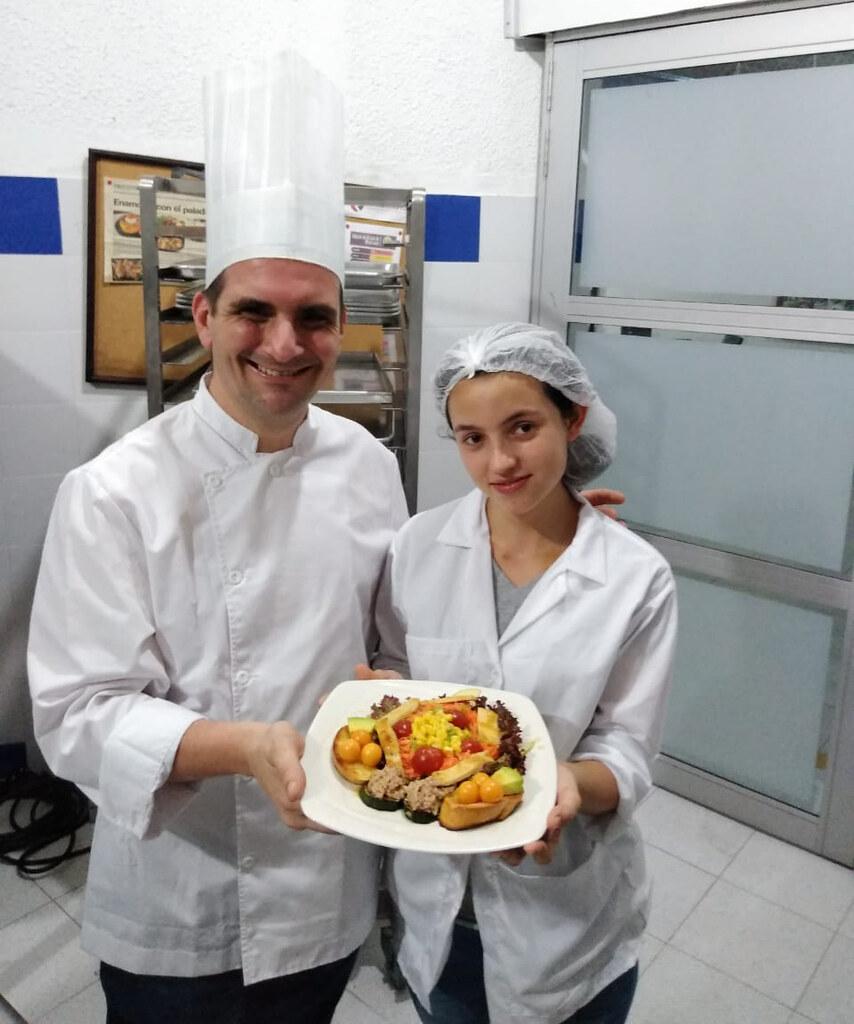 Intercambio gastronómico entre miembros de la RIET