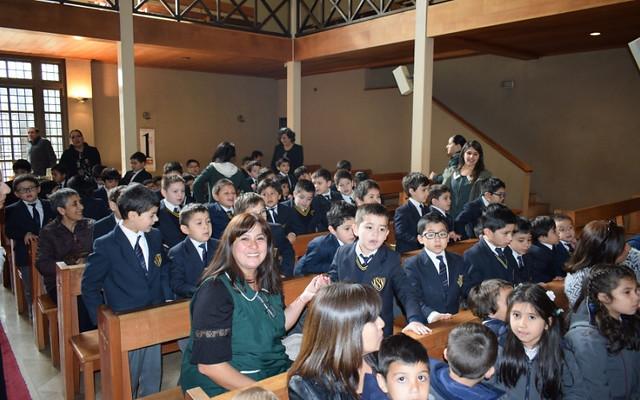Liturgia de agradecimiento Educación Pre Escolar Católica de Valdivia
