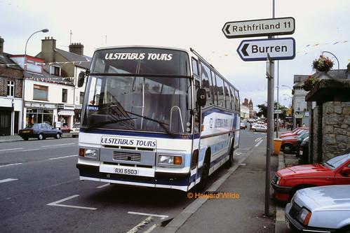 Ulsterbus 503 (RXI 5503 ex B507 UNB)