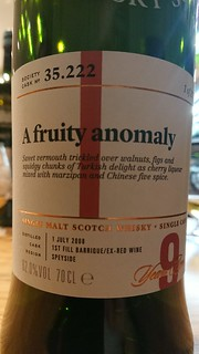 SMWS 35.222 - A fruity anomaly
