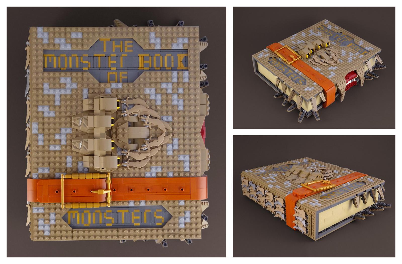 лего саморобка книга монстрів