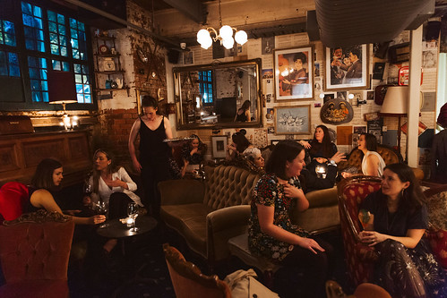 Fall From Grace - the bar hidden behind a bookshelf! From 12 Quirky Places to Discover in and Around Melbourne