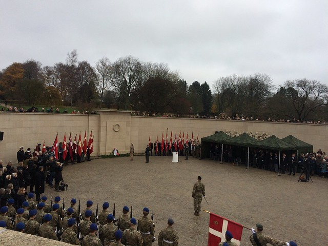 Monumentet Mindeparken Aarhus 11/11 2018