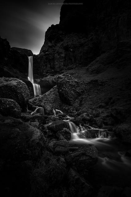 Bæjarfoss waterfall