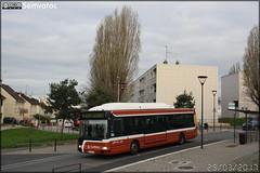 Irisbus Agora S GNV - Setram (Société d'Économie Mixte des TRansports en commun de l'Agglomération Mancelle) n°671