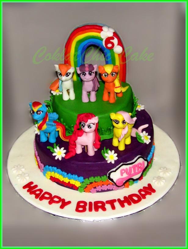 Cake My Little Pony PUTRI 15 cm