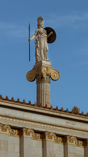 Goddess Athena looking over, Canon EOS 70D, Canon EF 70-300mm f/4-5.6 IS USM