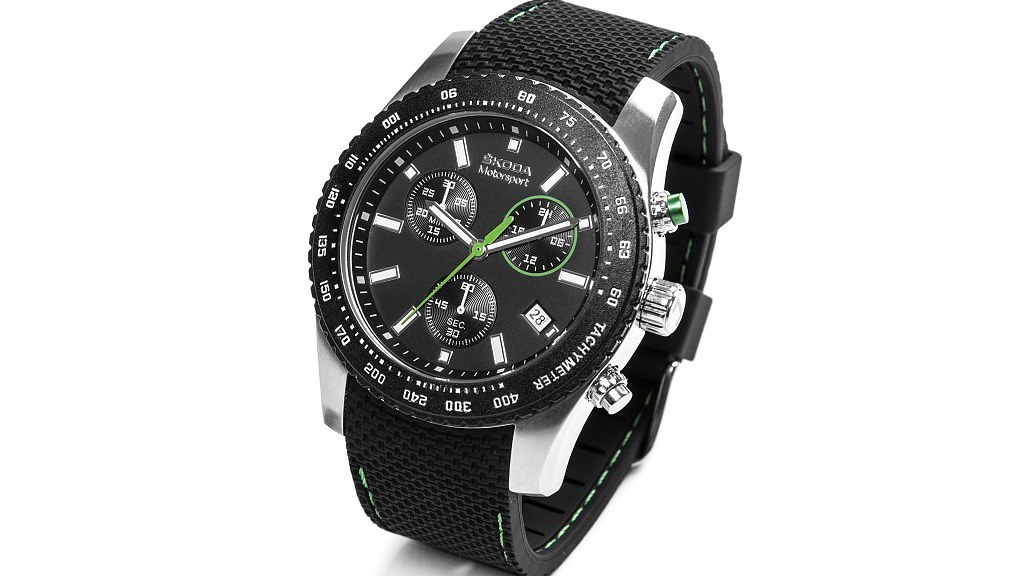 skoda-motorsport-wristwatch-gift