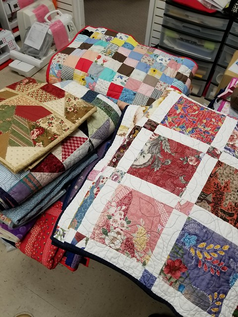 Sandhill Quilts Hurricane Quilts Donation
