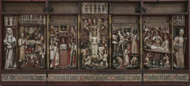 Polittico di Santa Caterina, Artista inglese del secolo XV