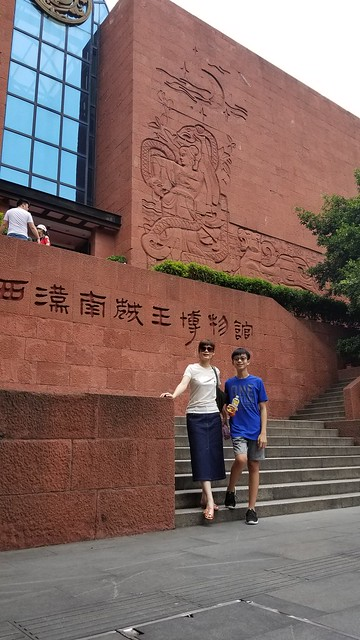 2018/07蔡蔡一族廣州遊part.2廣州博物館