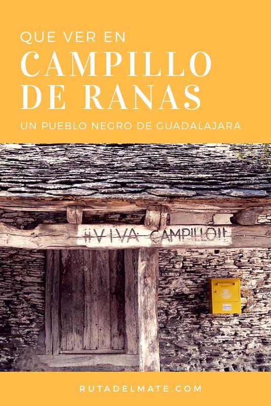 Que ver en Campillo de Ranas, pueblo negro de Guadalajara, España