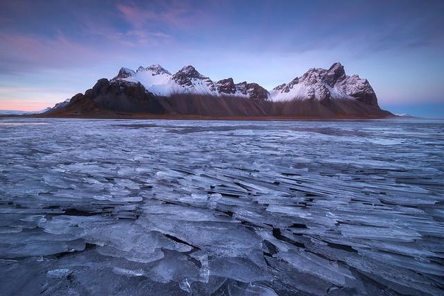 Layers of ice, Stokksnes