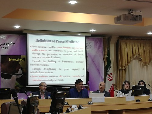 Friedenskonferenz  Health for Peace in Shiraz, Iran