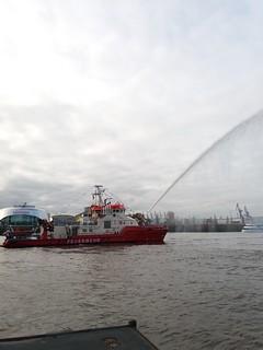 Taufe Feuerlöschboot 2018