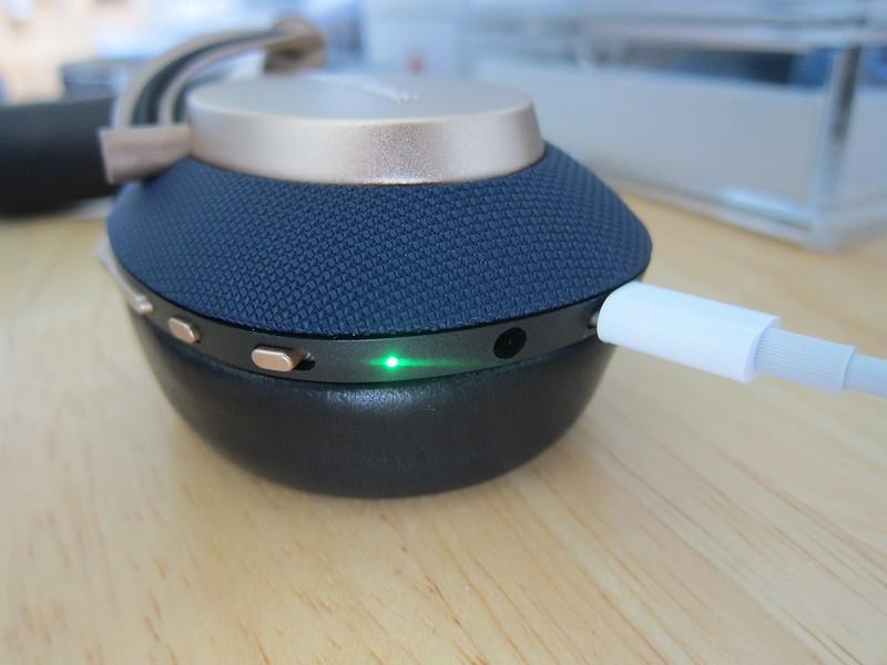 Bowers & Wilkins PX Headphones - Charging
