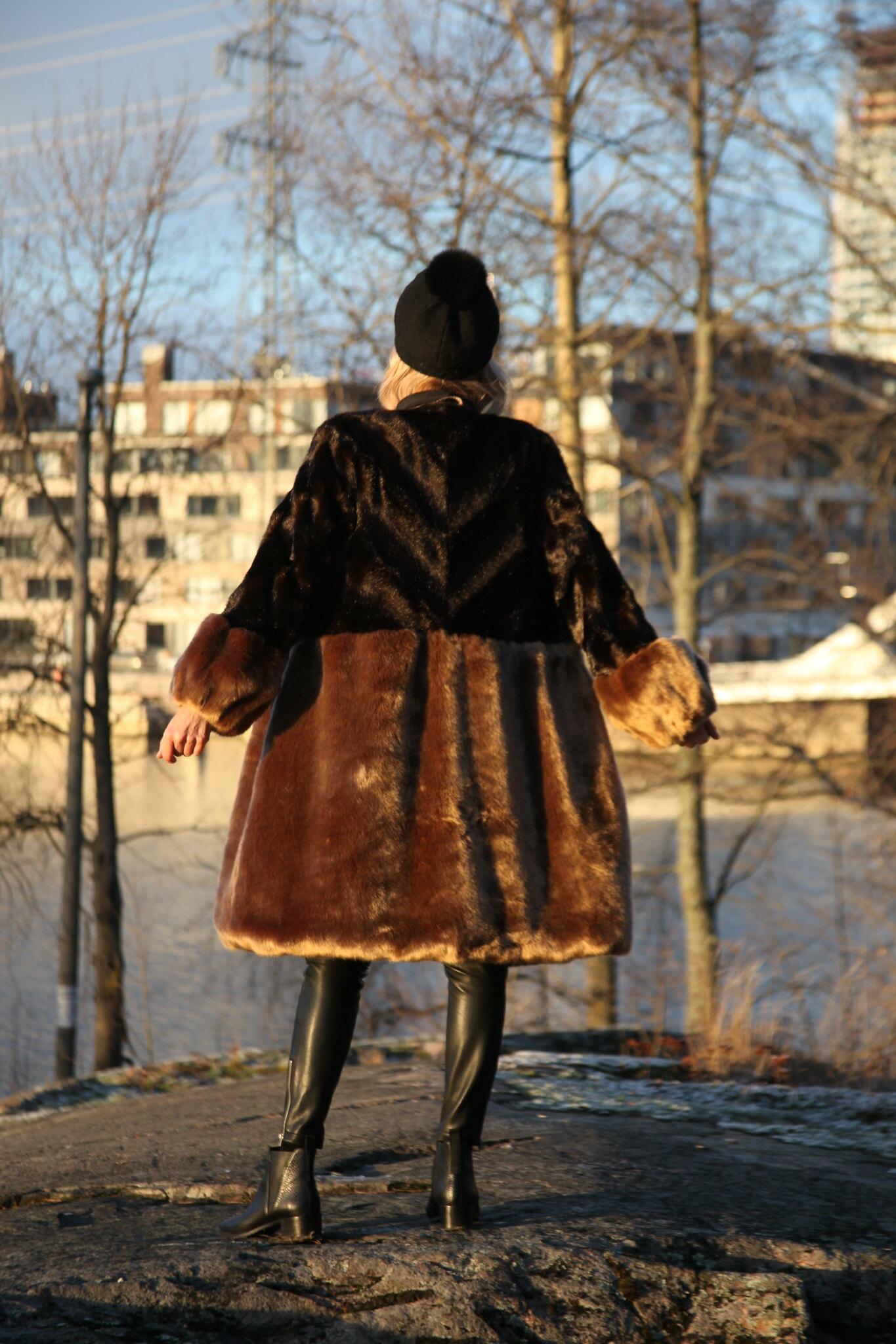 Sand Copenhagen, Fake Fur Coat, Business Woman