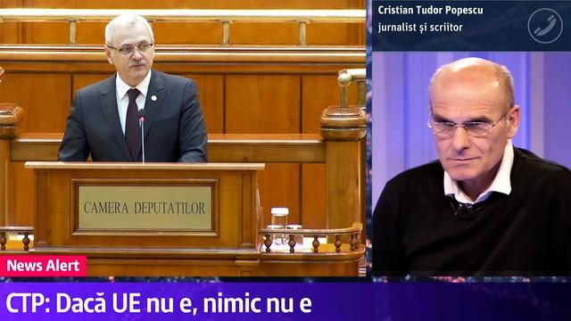 CTP despre DRAGNEA preocupat de AMNISTIE si iesirea Romaniei din UE 28 noiembrie 2018