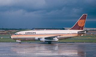 Orion Airways Boeing 737 - G-BHVI