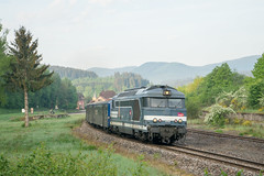BB 67400 im Elsass - Photo of Saulxures