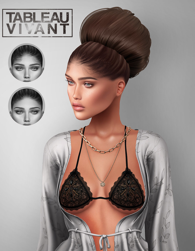 Tableau Vivant – New Hairbase & Hair for KUSTOM9