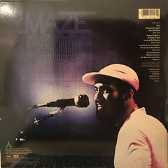 MAZE featuring FRANKIE BEVERLIE:LIVE IN NEW ORLEANS(JACKET B)