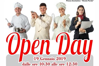 Noicattaro. openday alberghiero front