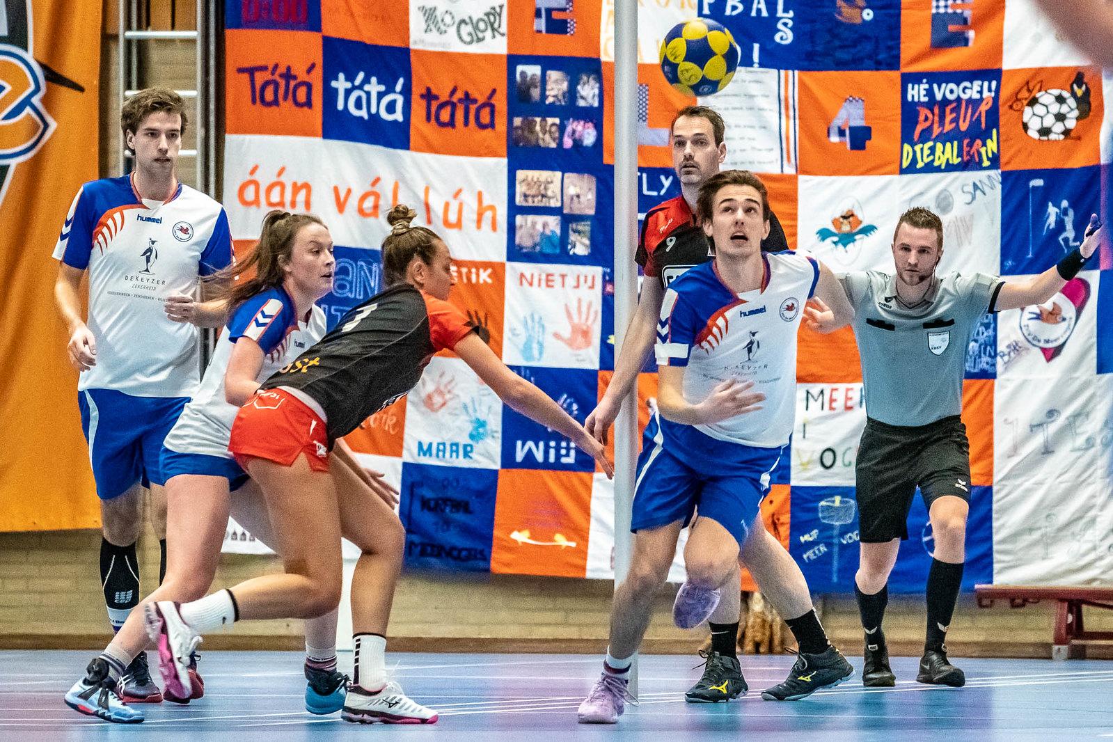 Korfbal: 2019-01-19 Meervogels / Física 1 – TOP 1 [28 – 32]