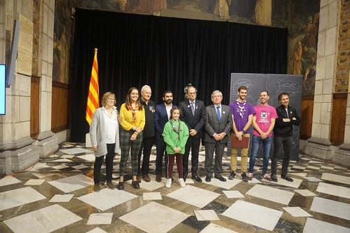 Reconeixement dels 125 anys de Colònies de Vacances a Catalunya