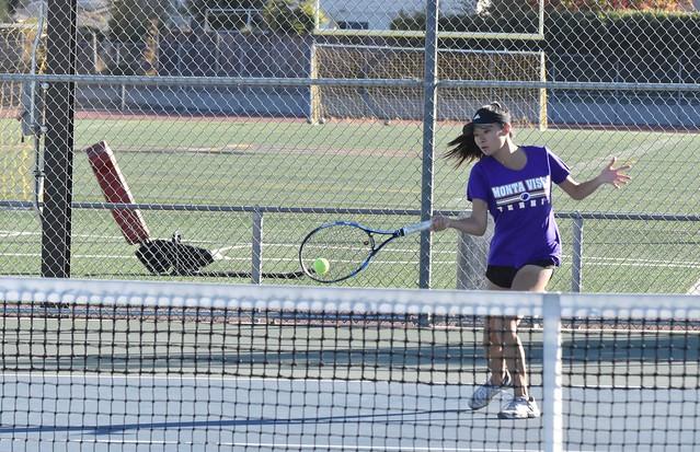 Girls Tennis CCS matchup vs Gunn HS