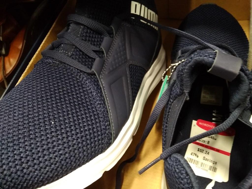 Puma sneakers $52.24