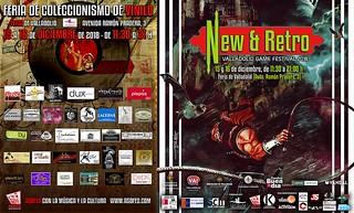 NEW & RETRO / Feria de Coleccionismo de Vinilo