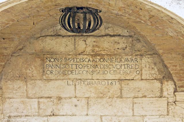 Fonte Sant'Emidio (Lavatoio di Borgo Solestà)