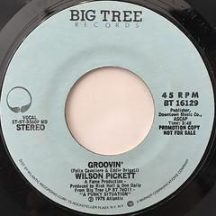 WILSON PICKETT:GROOVIN'(LABEL SIDE-A)