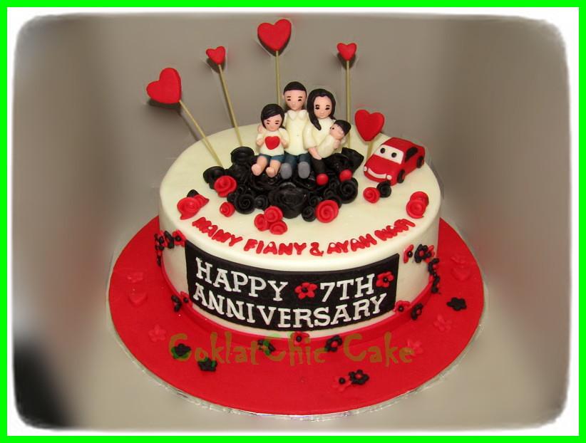 Cake Anniversary Family 24 cm