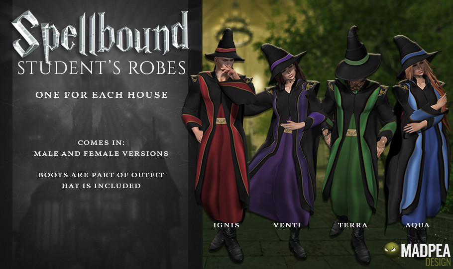 Spellbound Student Robes - TeleportHub.com Live!