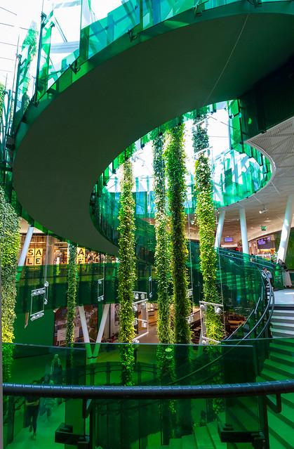 Sweden - Malmö - Emporia Shopping Mall - Green