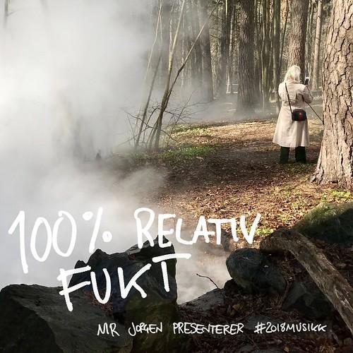 Mr Jorgen presenterer #2018musikk – 100% relativ fukt