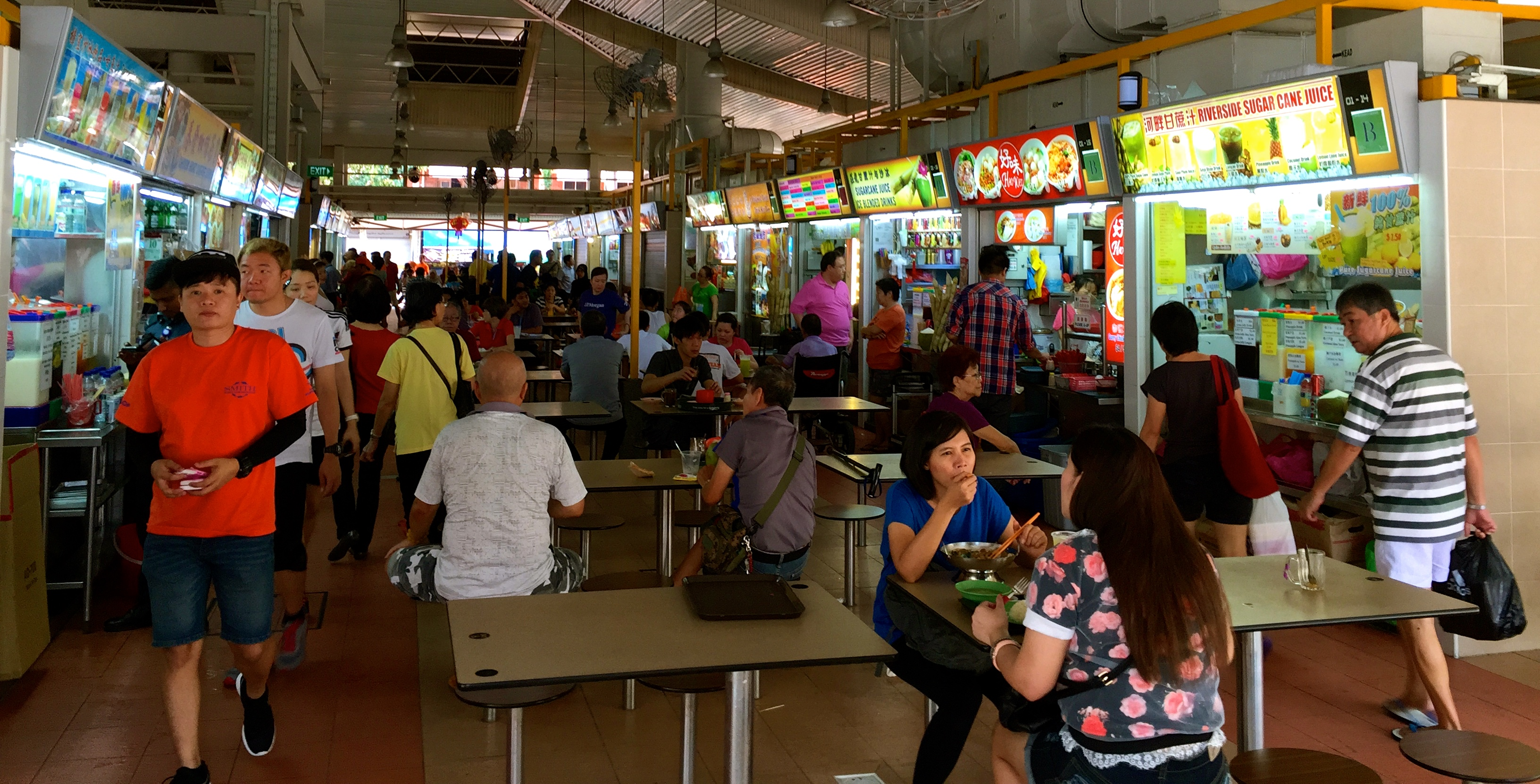 Hawker Market Singapore Traveldaveuk 13