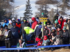 Spectators at Col de Moissière, Ancelle, for the Monte-Carlo Rally