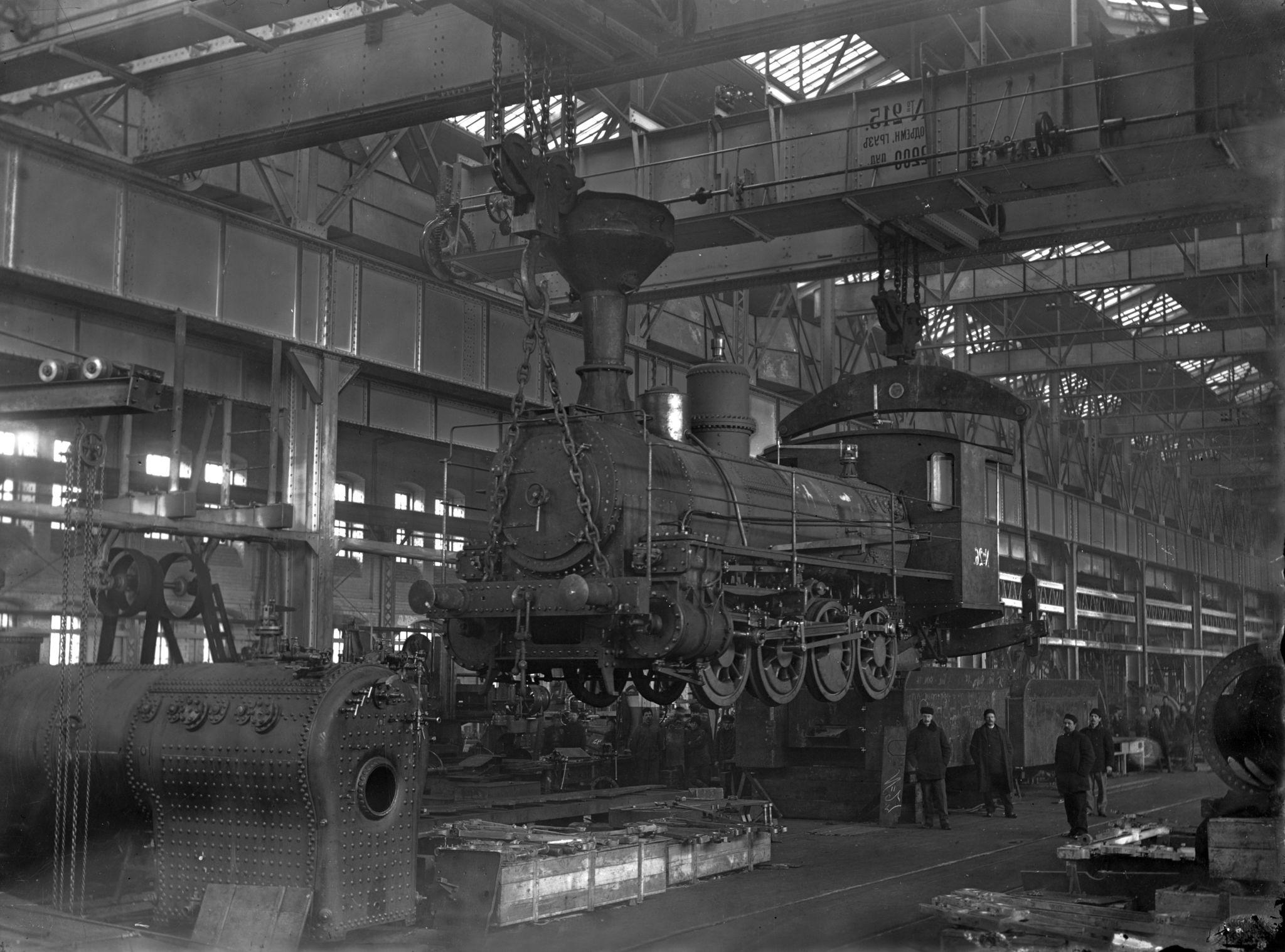 Сормовский завод, Паровозный сборочный цех