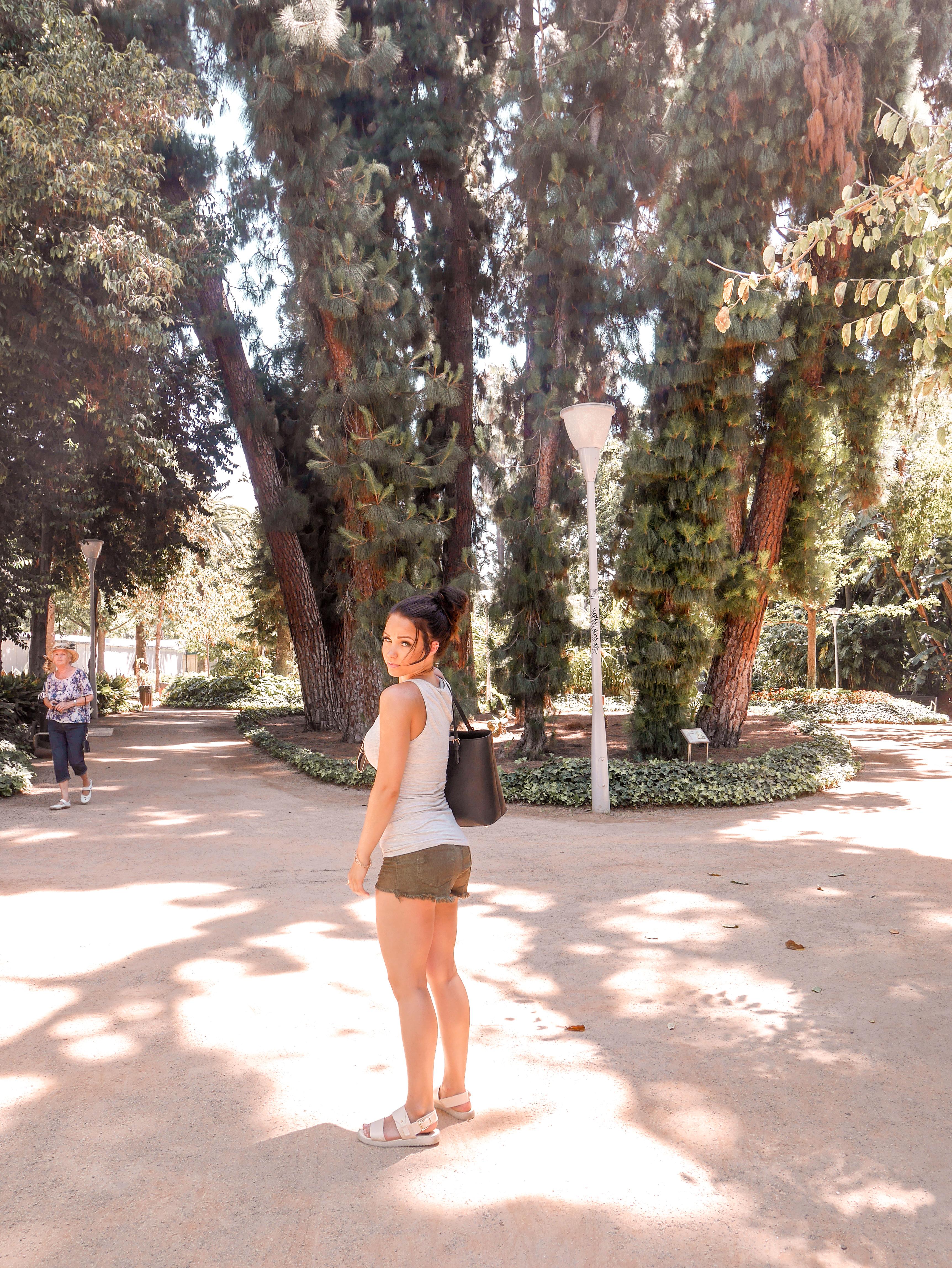 Parque de Malaga -puisto