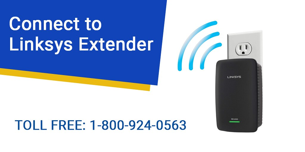 Connect to Linksys Extender
